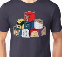 The Uncanny Blocks-Men Unisex T-Shirt