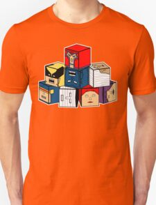 The Uncanny Blocks-Men T-Shirt