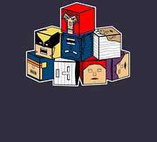 The Uncanny Blocks-Men Unisex T-Shirt