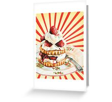Raspberry Shortcake Greeting Card