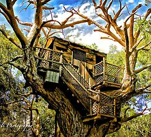 Tree House  by Blondepixals