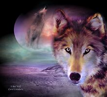 I Am Wolf by Carol  Cavalaris