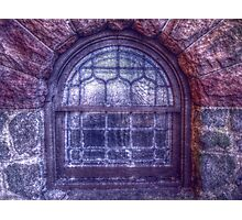 Lavender Stained Glass Photographic Print