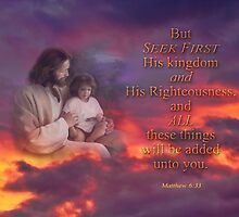 Seek First-Matthew 6:33 by vigor
