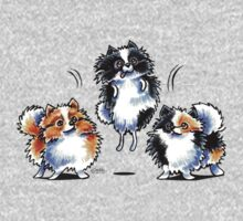 Love to Parti Pomeranians One Piece - Long Sleeve