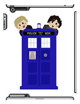 Wholock; TARDIS in Baker Street by TesniJade