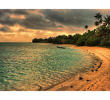 Coconut bay sunset Photographic Print