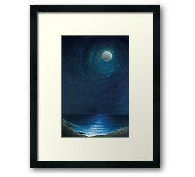 Zennor Moon Framed Print