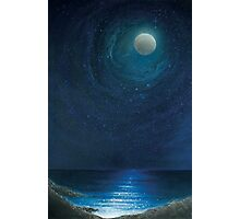Zennor Moon Photographic Print