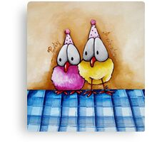 Party Animals Canvas Print