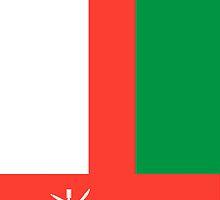 Oman flag by pjwuebker
