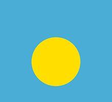 Palau Flag by pjwuebker