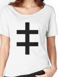 Celebritarian Corporation Black Women's Relaxed Fit T-Shirt
