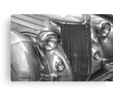 Black and White Classic 36 Ford  Canvas Print
