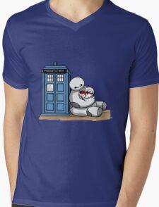 Doctor Mochi Mens V-Neck T-Shirt
