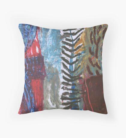plant matter Throw Pillow
