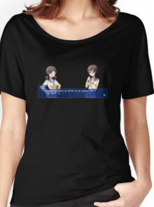 Corpse Party Seiko and Naomi: Ass Medicine Women's Relaxed Fit T-Shirt