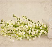 Ribboned Lily Of The Valley  by Sandra Foster