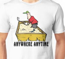 Golf Anywhere Anytime Unisex T-Shirt
