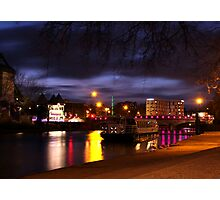 River Medway at Maidstone  Photographic Print