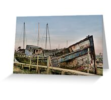 Gateway to the Good Hope. Greeting Card