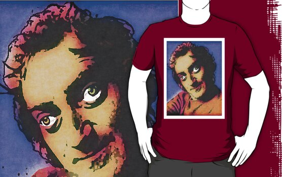 MARTY FELDMAN (POP-ART) COLOUR 2 by OTIS PORRITT