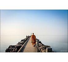 Walk on the Pier Photographic Print
