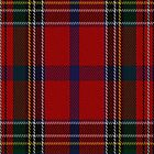 00409 Brown of Castledean Tartan Fabric Print Iphone Case by Detnecs2013