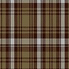 00412 Brown Watch Dress Tartan Fabric Print Iphone Case by Detnecs2013