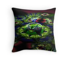 Mobius Fountain Throw Pillow