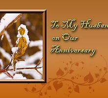 To My Husband On Our Anniversary Leaf by jkartlife