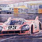 Porsche 917-20 Pink Pig Le Mans 1971 Joest Reinhold by Yuriy Shevchuk