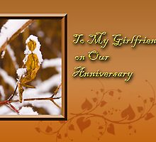 To My Girlfriend On Our Anniversary Leaf by jkartlife