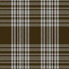 00422 Menzies Brown &amp; White Tartan Fabric Print Iphone Case by Detnecs2013