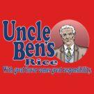 Uncle Ben's Rice. Spider-man by Brantoe