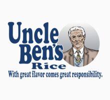 Uncle Ben's Rice. Spider-man Kids Clothes