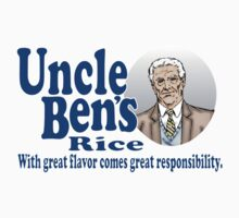 Uncle Ben's Rice. Spider-man Kids Clothes