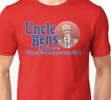 Uncle Ben's Rice. Spider-man Unisex T-Shirt