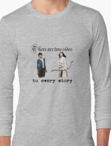 Snow White and Mary Margaret Blanchard Long Sleeve T-Shirt