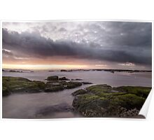Stormy Sunrise Poster