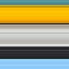 Yellow and Blue Pattern by JosePracek
