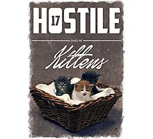 Hostile 17 Owes Me Kittens (grungy) Photographic Print