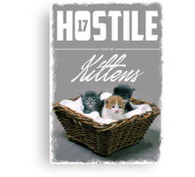 Hostile 17 Owes Me Kittens (Clean) Canvas Print