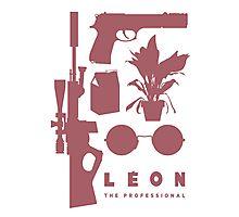 Leon - Minimal  Photographic Print