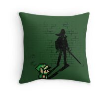 Becoming a Legend - Link Throw Pillow