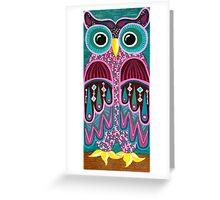 Wonderful Whimsical Owl no.2 Greeting Card