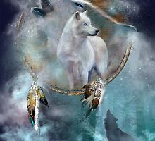 Spirit Of The White Wolf by Carol  Cavalaris
