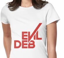 Evil Deb II Womens Fitted T-Shirt