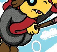 The Koopa Who Lived Sticker