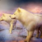 Spirit Of The White Wolves by Carol  Cavalaris